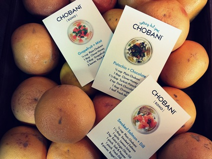 Chobani recipes