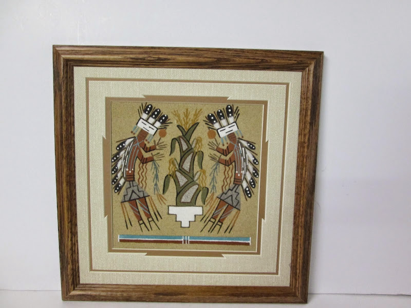 R. Tom Navajo Sand Painting