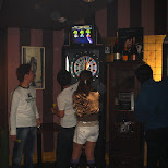 darts at club muse in Roppongi, Tokyo, Japan