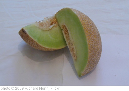 'Galia melon quarters' photo (c) 2009, Richard North - license: http://creativecommons.org/licenses/by/2.0/