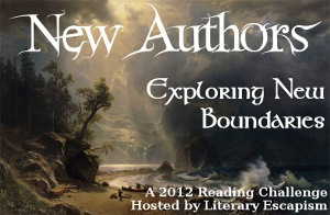 New Author Challenge 2012