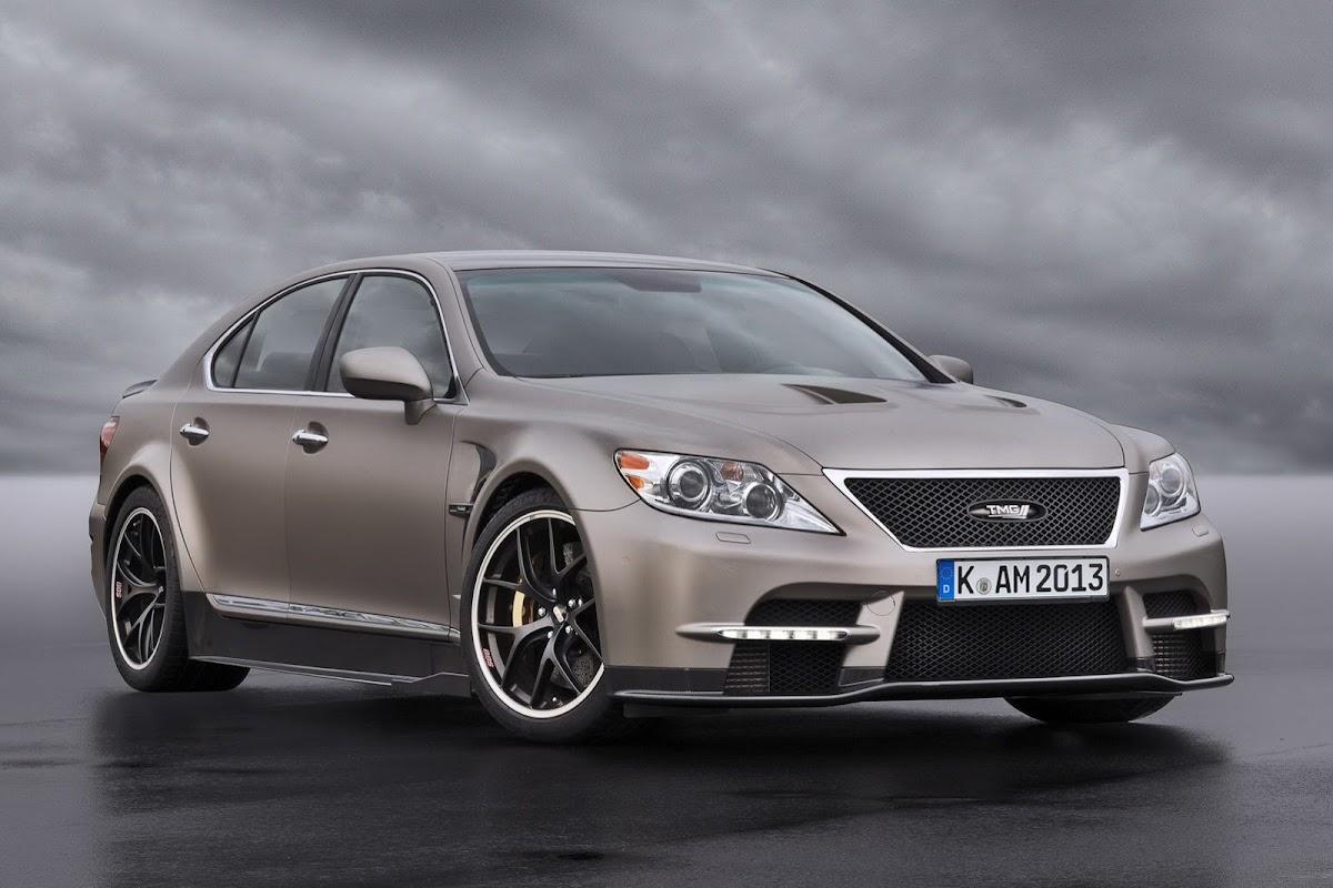 New Lexus Ls Tmg Sports Concept Featuring A Twin Turbo D
