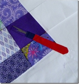 Paper Pieced Seam Ripper by Marieka