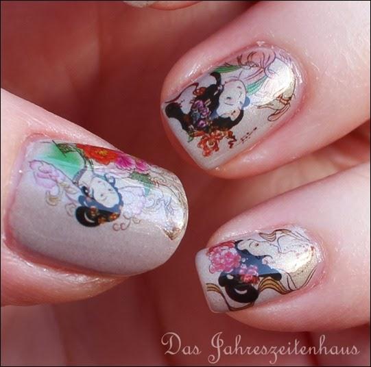 Geisha Nail Art 2