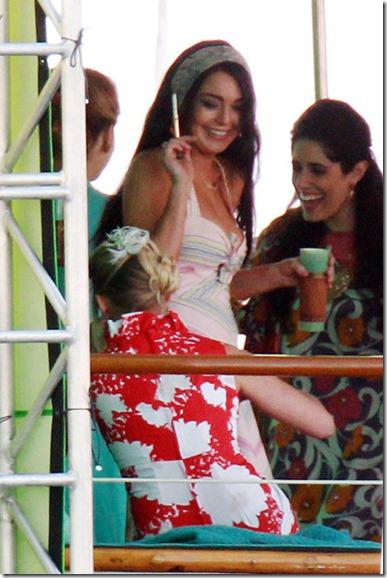 T TS DICK Lindsay Lohan appears suffer multiple Y9Gono5VWRJl