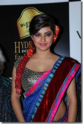 Meera Chopra Saree Hot Stills at BPHIFW 2012 Day 3
