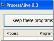Riavviare in automatico i programmi chiusi per errore o per crash con ProcessAlive