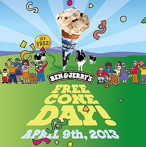 BEN & JERRY'S SINGAPORE FREE CONE DAY 2013 ICE CREAM SCOOP OUTLETS flavours favourites Chocolate Therapy, English Toffee Crunch, Maple Tree Hugger, Strawberry Cheesecake Lemonade Sorbet free scoop day CLEO CHARITY PROJECT