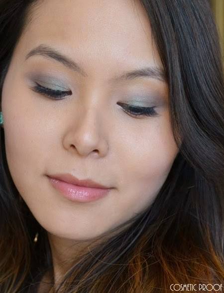 Clarins Ombre Matte Cream to Powder Eyeshadows 04 Rosewood Nude Beige Review Swatches (7)