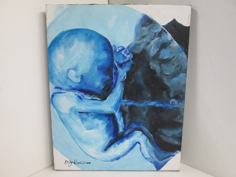 Fetus Painting 