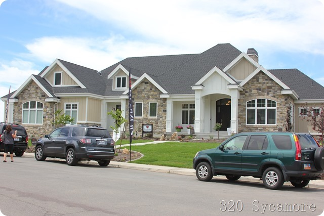 Favorite home from parade of homes 320 sycamore for Utah home design architects