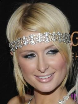 Paris Hilton Cute Short Hairstyle