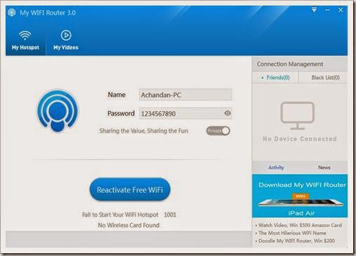 My WIFI Router 3.0 screenshoot1