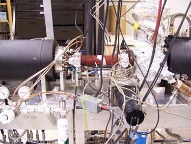 aparelho utilizado para produção do positrônio