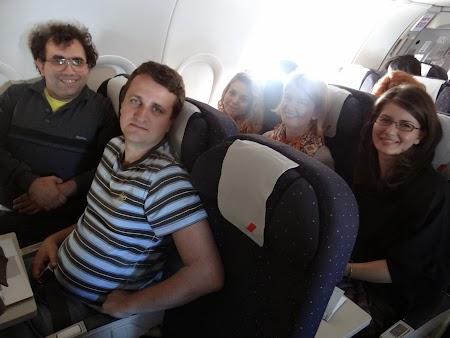 Zbor spre Franta:  Pe cursa Air France Bucuresti - Paris