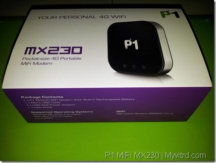 P1 MiFi MX230 a