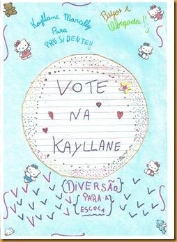cartaz Kayllane