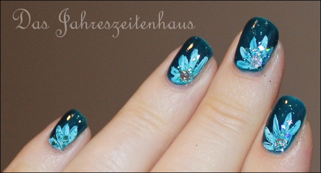 Nageldesign Deep Ocean 10