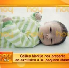FOTO: Este es Mateo, hijo de Galilea Montijo