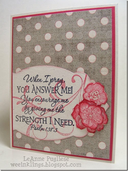 LeAnne Pugliese WeeInklings Everything Eleanor Sympathy Stampin
