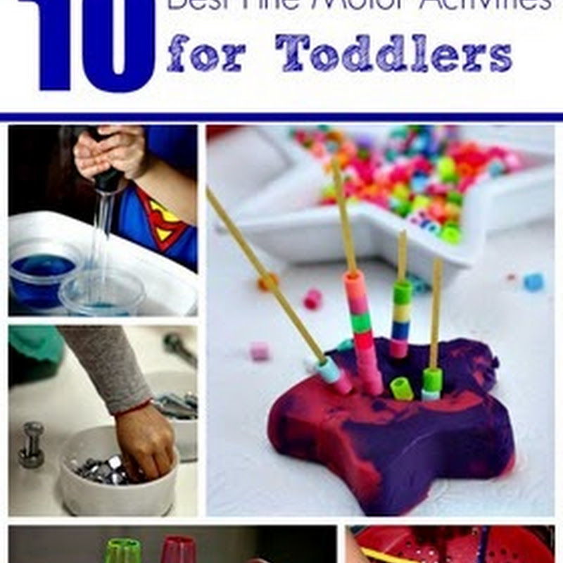 How to Help Your Toddler Develop Fine Motor Skills