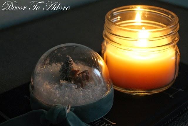 Christmas candle 025
