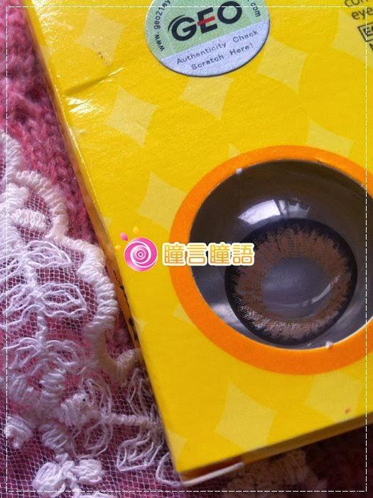 韓國GEO隱形眼鏡-GEO Holicat 荷麗貓仙女咖(Barbie Cat)3