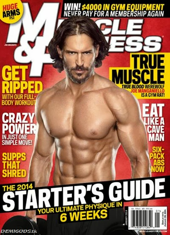 Joe Manganiello Muscle and fitness magazine January 2014 (3)