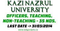 Kazi-Nazrul-University-Jobs