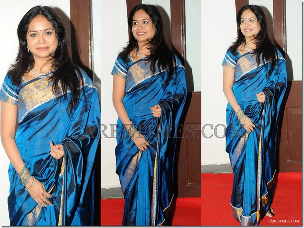 Sunitha_Blue_Silk_Saree