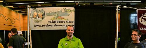 image of Two Beers' owner & brewer Joel VandenBrink courtesy of +Russ.