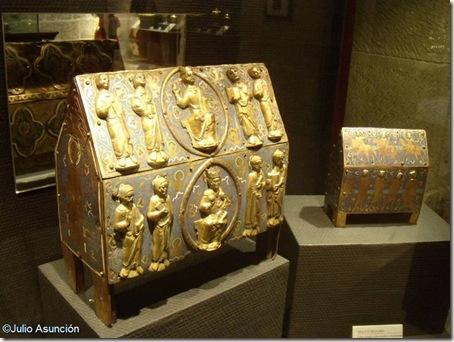 Arquetas románicas - Museo Diocesano - Catedral de Huesca
