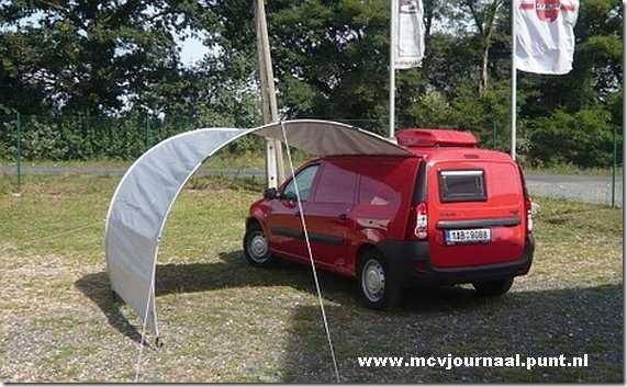 Dacia Logan Camper 11