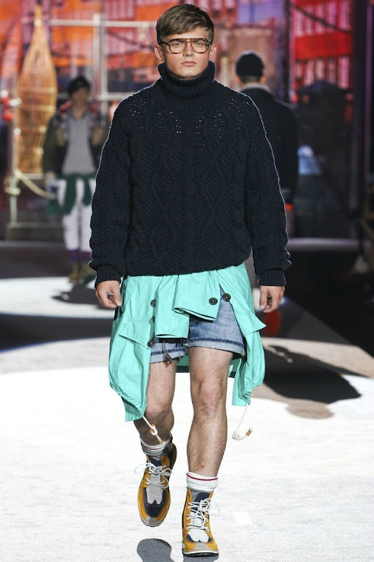 Milan Fashion Week Primavera 2012 - Dsquared² (34)
