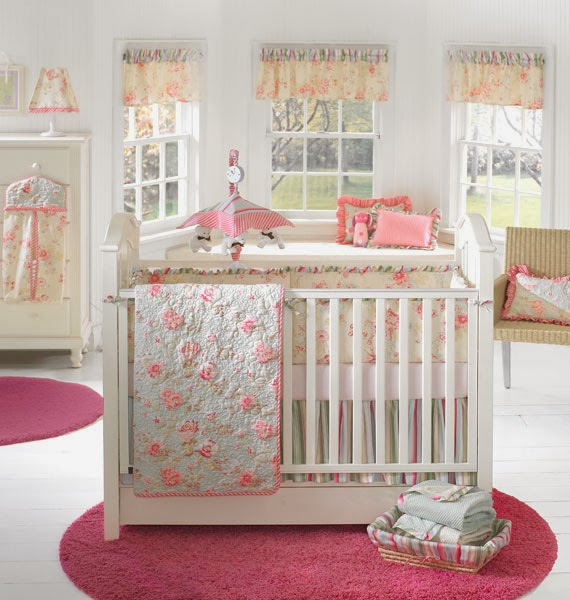 Country_cottage Baby Girl Nursery Ideas