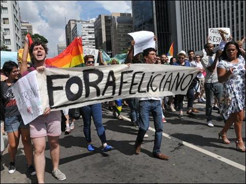 manifestação contra Marco feliciano 06