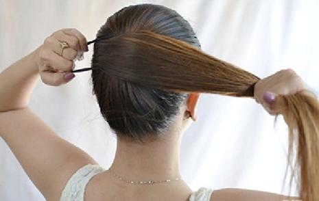 Image result for rambut selalu diikat