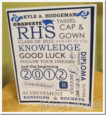 graduation subway art card 1