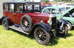 Vauxhall 1927 type R 20-60 saloon