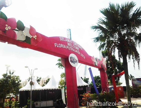 pintu gerbang pesta Flora 2012