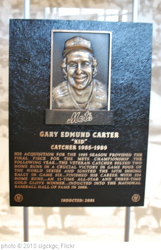 'Gary Carter Hall of Fame Plaque' photo (c) 2010, slgckgc - license: http://creativecommons.org/licenses/by/2.0/