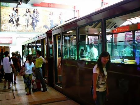 Obiective turistice Hong Kong: Peak Tram