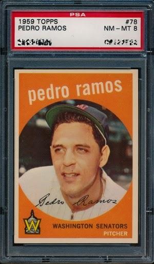 1959 Topps 78 Pedro Ramos