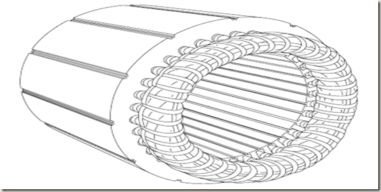 electrical engineering  ac motor construction