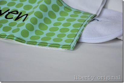 Burp Cloth Owen Corner