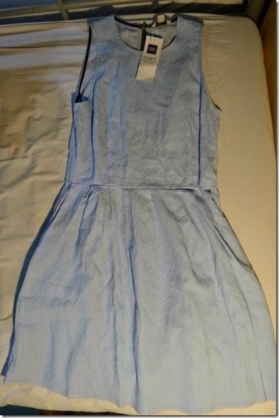 GAP little blue dress