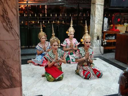 Foto cu Sony:. Dansatoare thalandeze