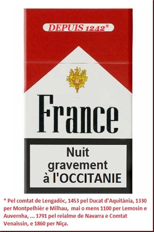 fRANCE cigaretas