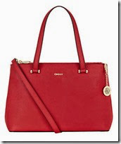 DKNY large double zip shopping tote