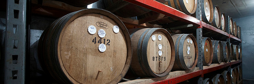 image of Cascade Brewing's Barrel Room, courtesy of Portlandbeer.org